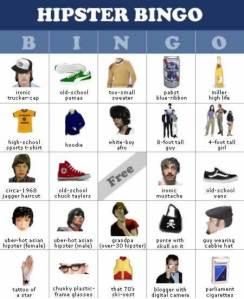 hipster-bingo